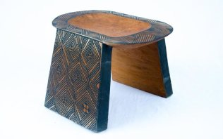 Asurini Geometric Bench (M), Tribal Art, Brazil