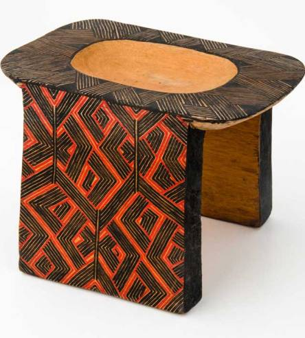 Asurini do Xingu Tribal Bench