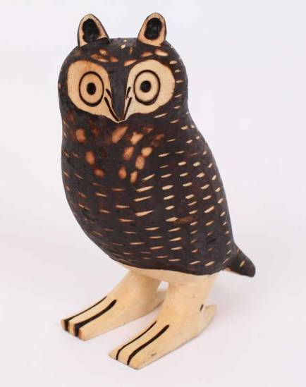 Guarani Owl, Amazonian Tribal Art