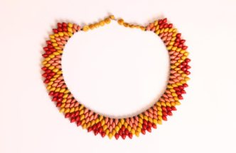 Pataxo Brazil Indigenous Necklace