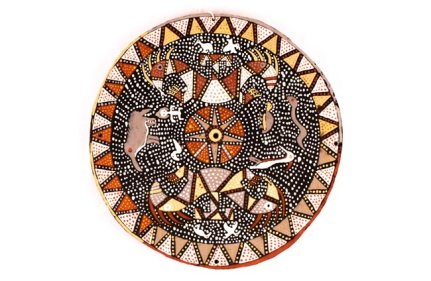 Wayana Roof Circle, Indigenous Art